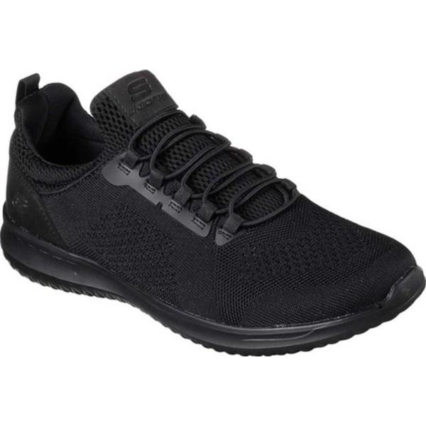 スケッチャーズ メンズ スニーカー シューズ Delson Brewton Sneaker Black/Black