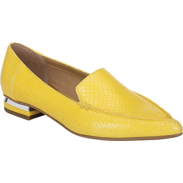 フランコサルト レディース スニーカー シューズ Starland Loafer Yellow Leather