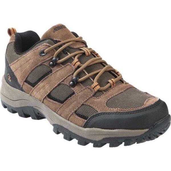 ノースサイドフットウェア メンズ ブーツ&レインブーツ シューズ Monroe Low Hiking Shoe Brown Suede/Nylon