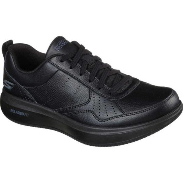 スケッチャーズ メンズ スニーカー シューズ GOwalk Steady Sneaker Black/Black
