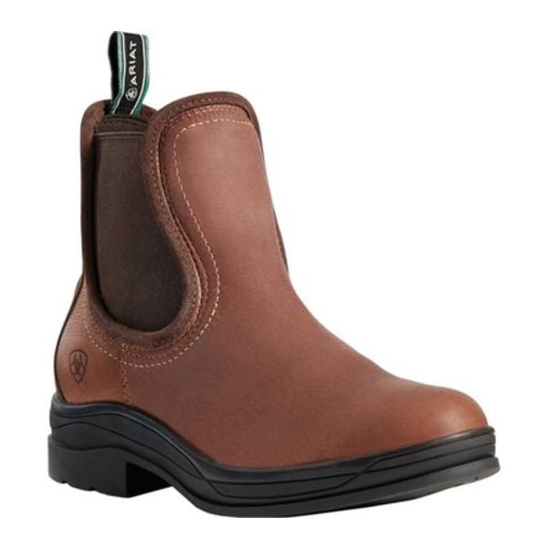アリアト レディース ブーツ&レインブーツ シューズ Keswick H2O Chelsea Boot Brick Full Grain Leather/Nubuck