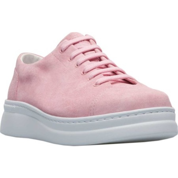 カンペール レディース スニーカー シューズ Runner Up Sneaker Light Pastel Pink Pigskin Nubuck
