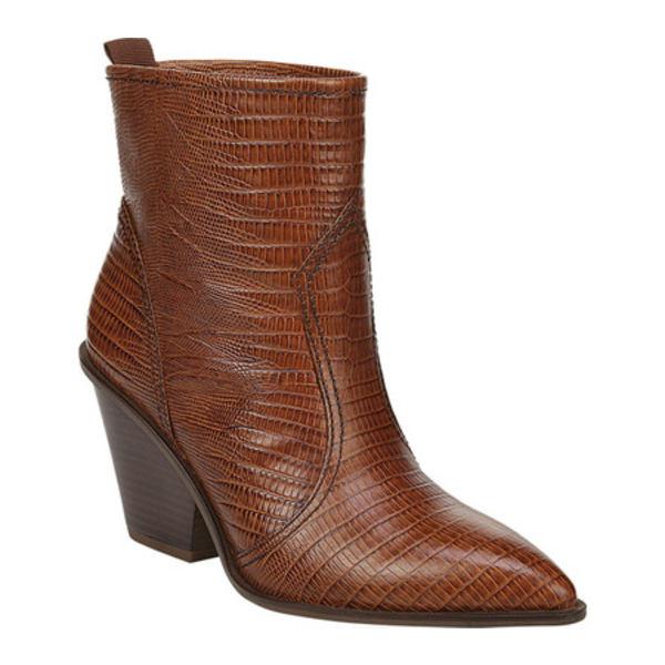 サルトバイフランコサルト レディース ブーツ&レインブーツ シューズ Valentina Ankle Bootie Walnut Leather