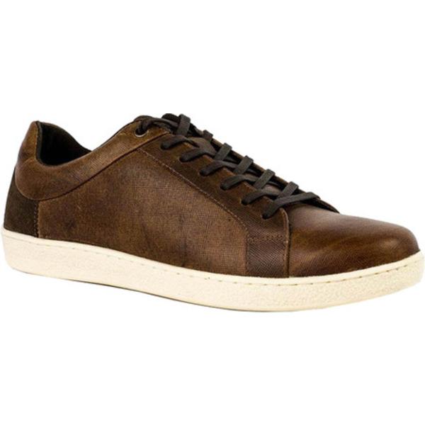 クレボ メンズ ドレスシューズ シューズ Bicknor Sneaker Chestnut Leather