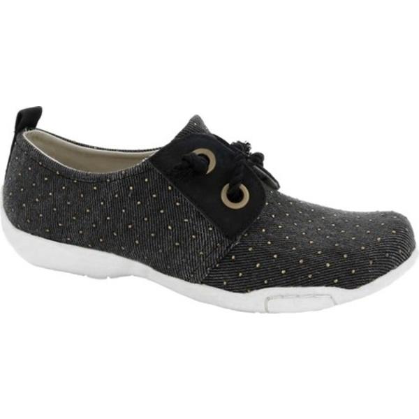 ロスハンマーソン レディース サンダル シューズ Calypso Sneaker Black/Gold Fabric