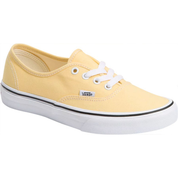 バンズ レディース スニーカー シューズ Seasonal Authentic Canvas Sneaker Golden Haze/True White