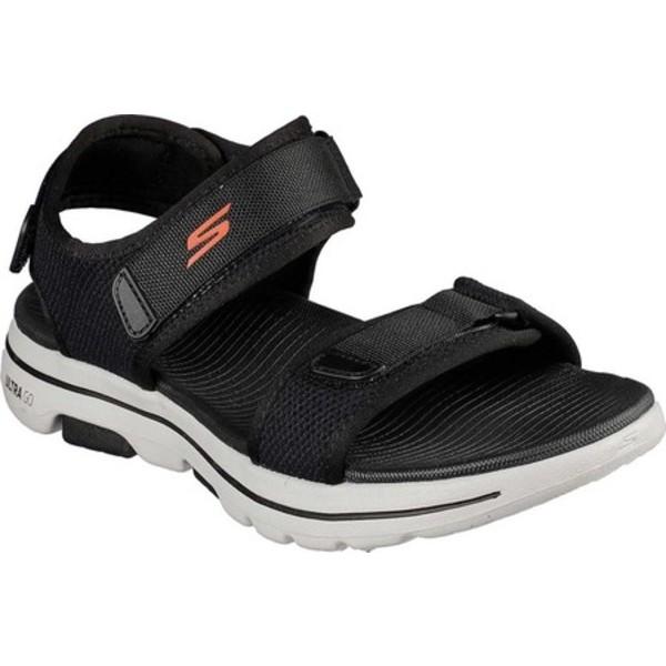 スケッチャーズ メンズ スニーカー シューズ GOwalk 5 Cabourg Sport Sandal Black/Orange