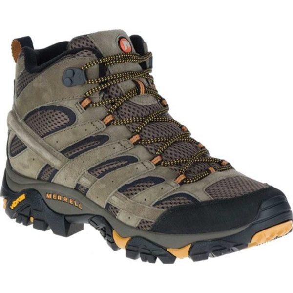 メレル メンズ ブーツ&レインブーツ シューズ Moab 2 Vent Mid Hiking Shoe Walnut