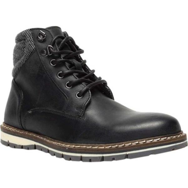 クレボ メンズ ブーツ&レインブーツ シューズ Evanns Ankle Boot Black Leather