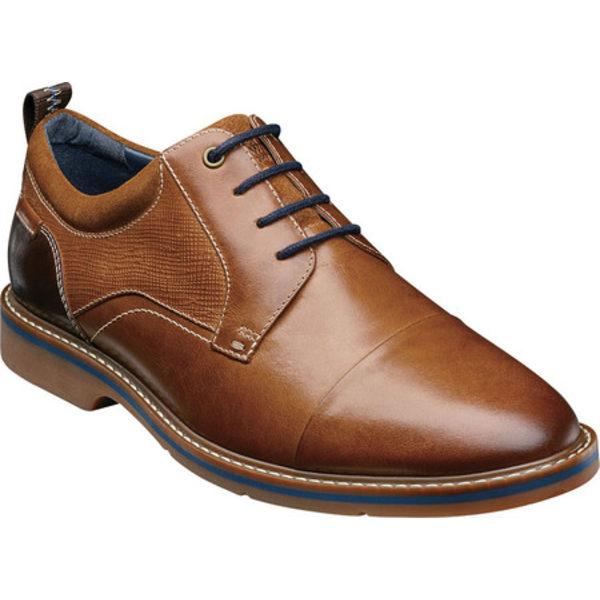 ノンブッシュ メンズ ドレスシューズ シューズ Pasadena II Cap Toe Oxford Cognac Multi Leather