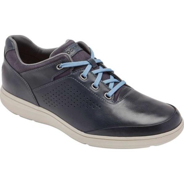ロックポート メンズ ドレスシューズ シューズ Zaden UBal Oxford Sneaker New Dress Blue Leather