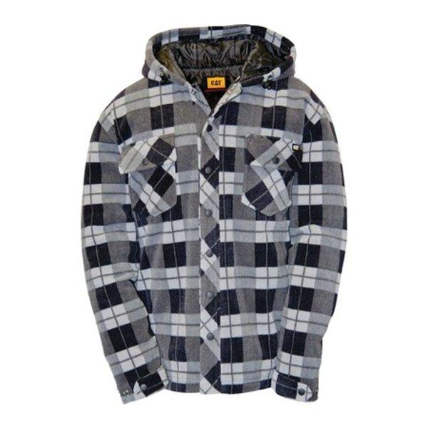 キャタピラー メンズ ジャケット&ブルゾン アウター Active Work Jacket Grey Watch Plaid
