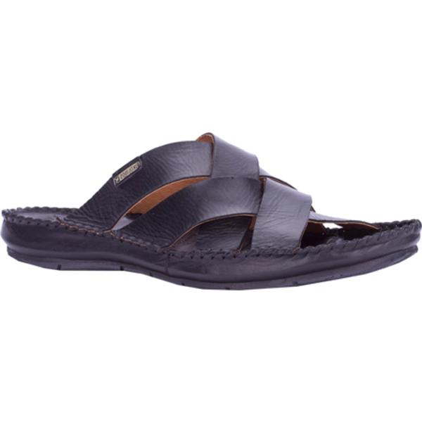 ピコリーノス メンズ スニーカー シューズ Tarifa Slide 06J-0015 Black Leather