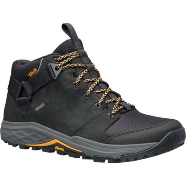 テバ メンズ ブーツ&レインブーツ シューズ Grandview GTX Waterproof Hiking Boot Black Leather/Polyester