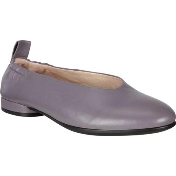 エコー レディース サンダル シューズ Anine Classic Ballet Flat Dusk Full Grain Leather