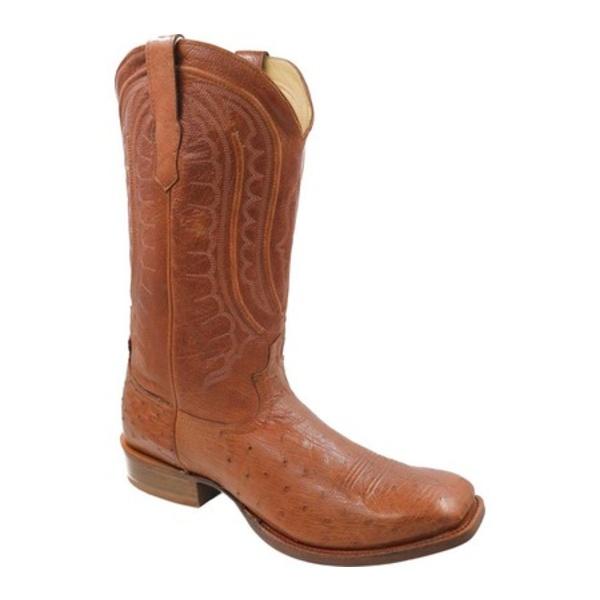 ツイステッド エックス メンズ ブーツ&レインブーツ シューズ MRCL001 Rancher Cowboy Boot Brandy Smooth Ostrich/Brandy Leather