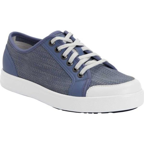 アレグリア レディース スニーカー シューズ TRAQ Sneaq Washed Blue Leather