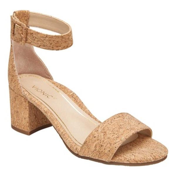 バイオニック レディース サンダル シューズ Rosie Ankle Strap Sandal Cork