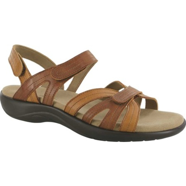 エスエーエス レディース サンダル シューズ Pier Strappy Sandal Sepia Leather