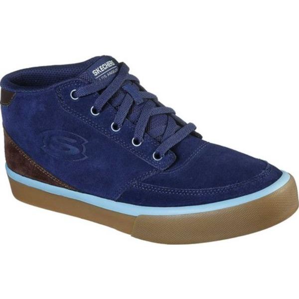 スケッチャーズ メンズ スニーカー シューズ SC Linmoore Sneaker Navy/Brown