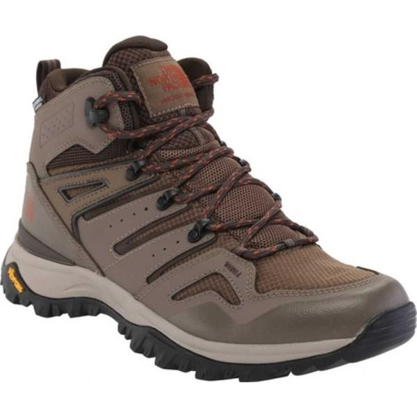 ノースフェイス メンズ ブーツ&レインブーツ シューズ Hedgehog Fastpack II Mid Waterproof Hiking Boot Bipartisan Brown/Coffee Brown
