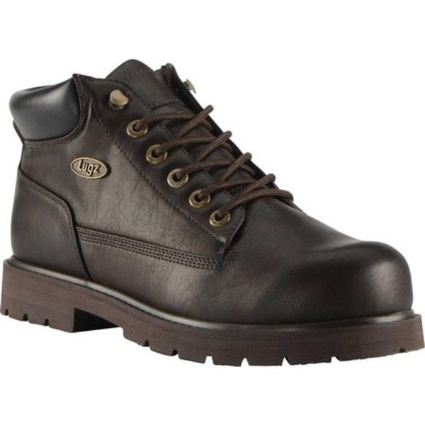 ラグズ メンズ ブーツ&レインブーツ シューズ Drifter LX Boot Dark Brown Synthetic Leather