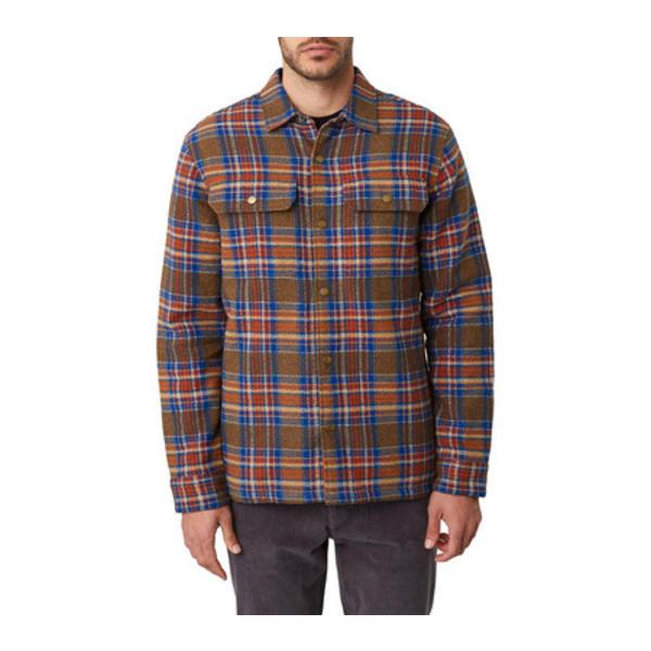 オニール メンズ ジャケット&ブルゾン アウター Flanders Shirt Jacket Army Green