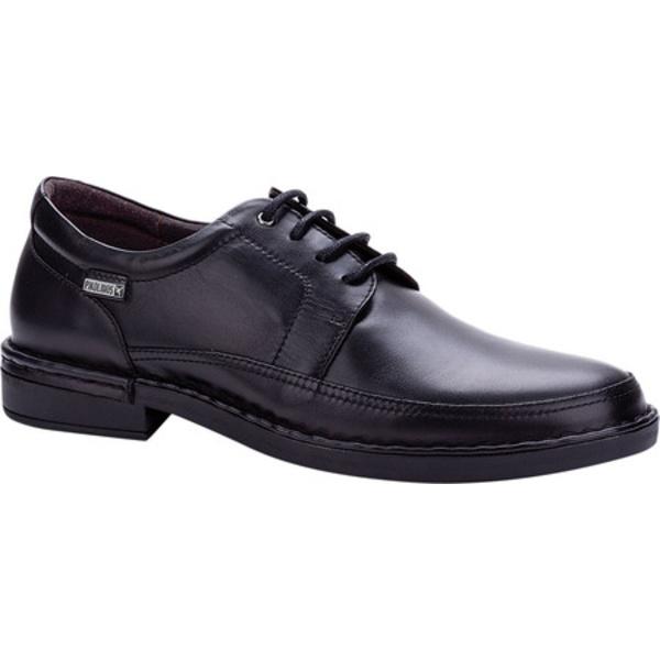 ピコリーノス メンズ ドレスシューズ シューズ Bermeo Oxford M0M-4255 Black Calfskin Leather