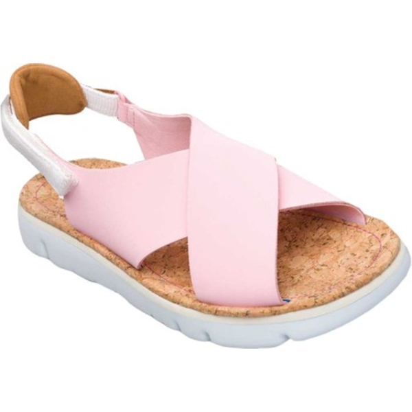 カンペール レディース スニーカー シューズ Oruga Platform Sandal Light Pastel Pink Full Grain/Technical Fabric