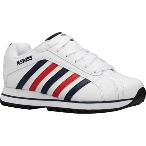 ケースイス レディース オックスフォード シューズ Verstad 2000 S Court Sneaker White/Corporate