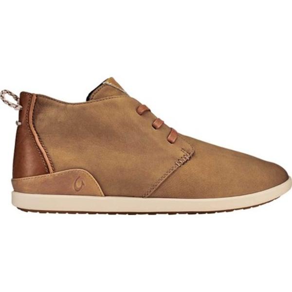 オルカイ メンズ ブーツ&レインブーツ シューズ Hwai'iloa Manu Ihu Chukka Boot Fox/Tapa Nubuck Leather