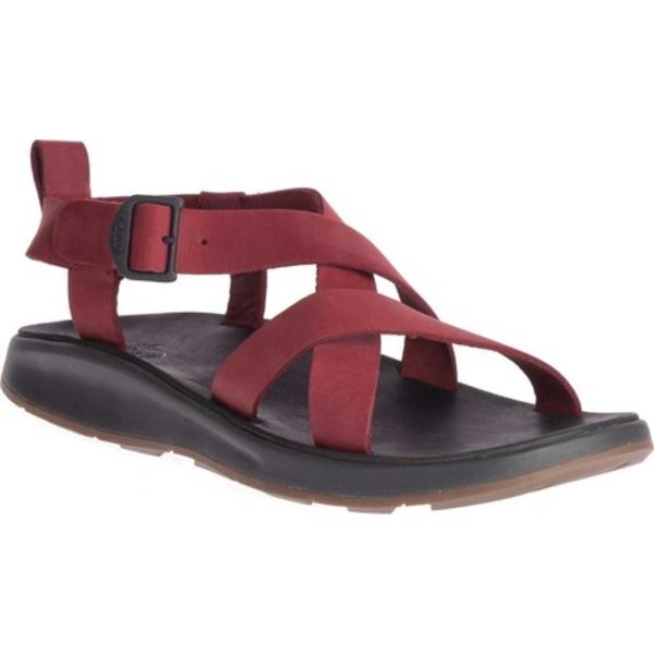 チャコ メンズ スニーカー シューズ Wayfarer Leather Sandal Port Full Grain Leather