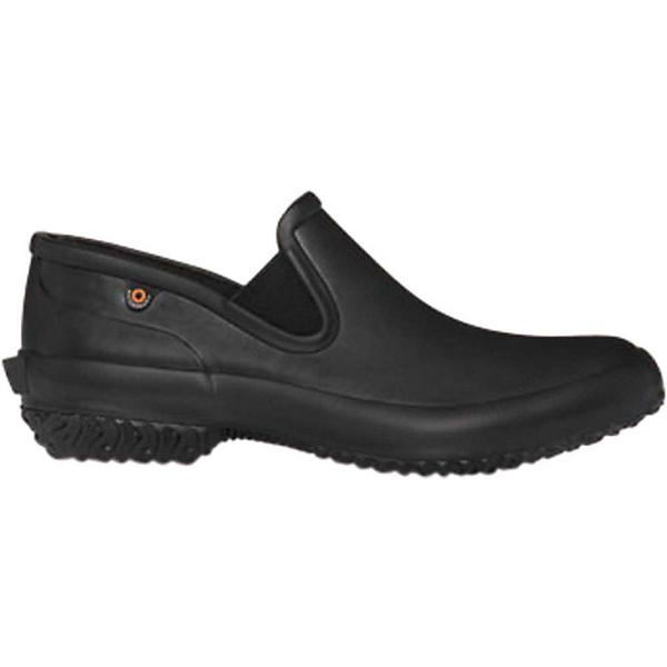 ボグス レディース シューズ 在庫処分 スニーカー Black 全商品無料サイズ交換 限定モデル Patch Shoe Solid Women's Slip Bogs
