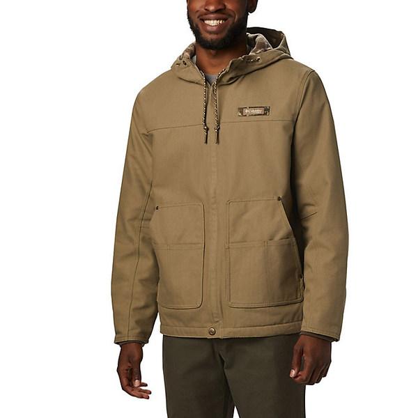 コロンビア メンズ ジャケット&ブルゾン アウター Columbia Men's Rough Tail Work Hooded Jacket Flax