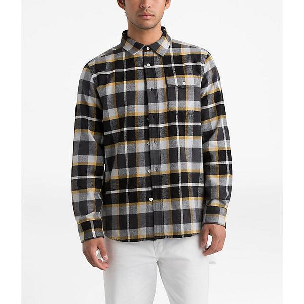 ノースフェイス メンズ シャツ トップス The North Face Men's Arroyo Flannel LS Shirt Asphalt Grey Speed Wagon Plaid