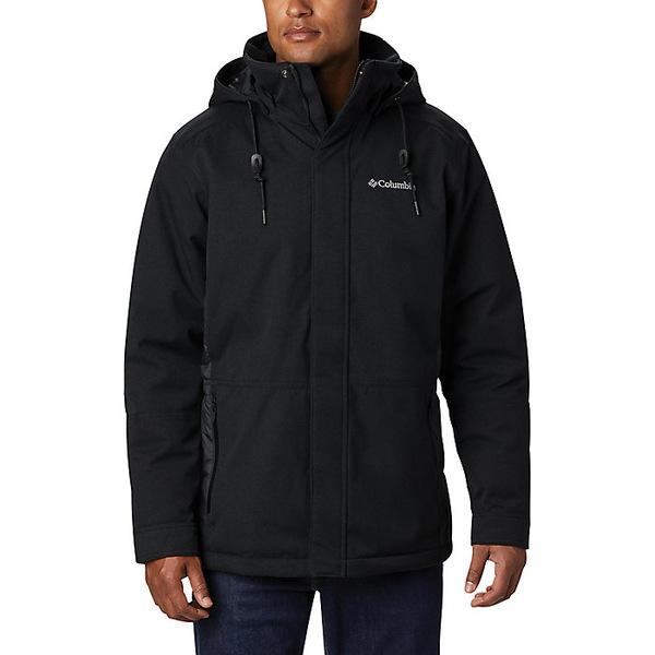 コロンビア メンズ ジャケット&ブルゾン アウター Columbia Men's Boundary Bay Hybrid Jacket Black