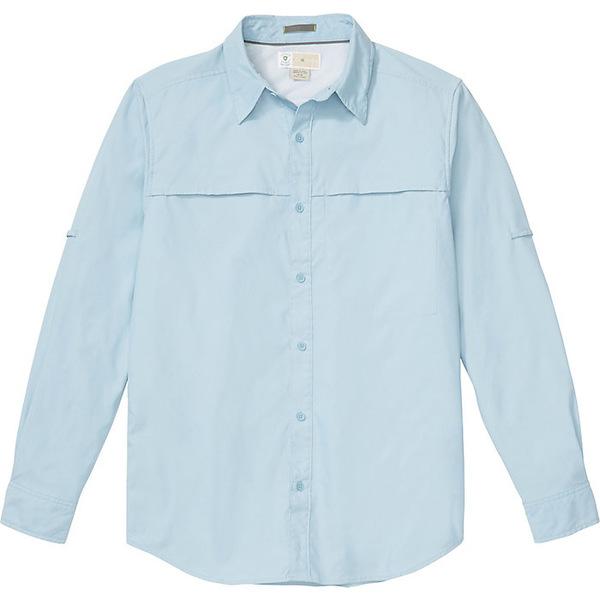エクスオフィシオ メンズ シャツ トップス ExOfficio Men's BugsAway Gallatin LS Shirt Aleutian