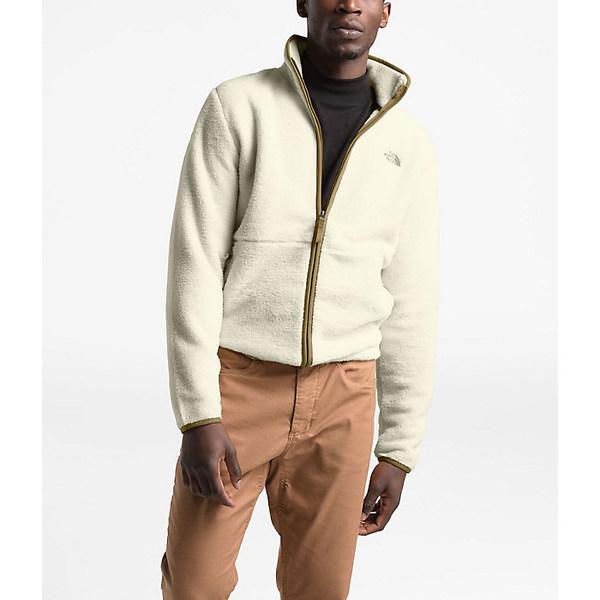 ノースフェイス メンズ ジャケット&ブルゾン アウター The North Face Men's Dunraven Sherpa Full Zip Jacket Vintage White/British Khaki