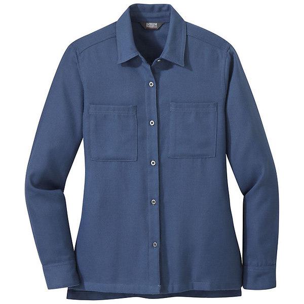 アウトドアリサーチ レディース シャツ トップス Outdoor Research Women's Feedback Flannel Shirt Steel Blue