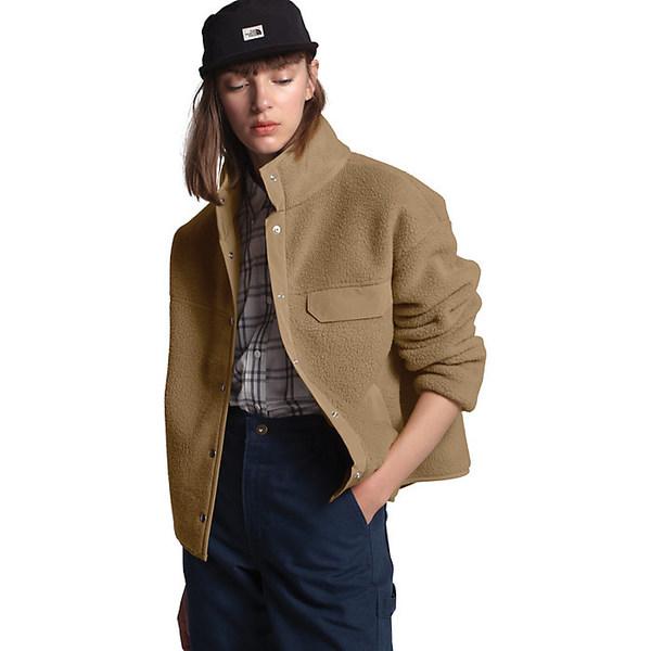 ノースフェイス レディース ジャケット&ブルゾン アウター The North Face Women's Cragmont Fleece Jacket Kelp Tan / Kelp Tan