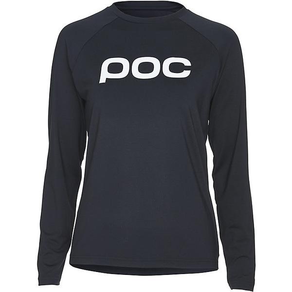 ピーオーシー レディース シャツ トップス POC Sports Women's Essential MTB Jersey Uranium Black