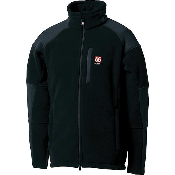 66ノース メンズ ジャケット&ブルゾン アウター 66North Men's Tindur Technical Jacket Black