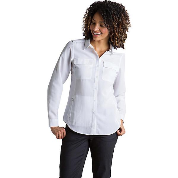 エクスオフィシオ レディース シャツ トップス ExOfficio Women's Rotova LS Shirt White