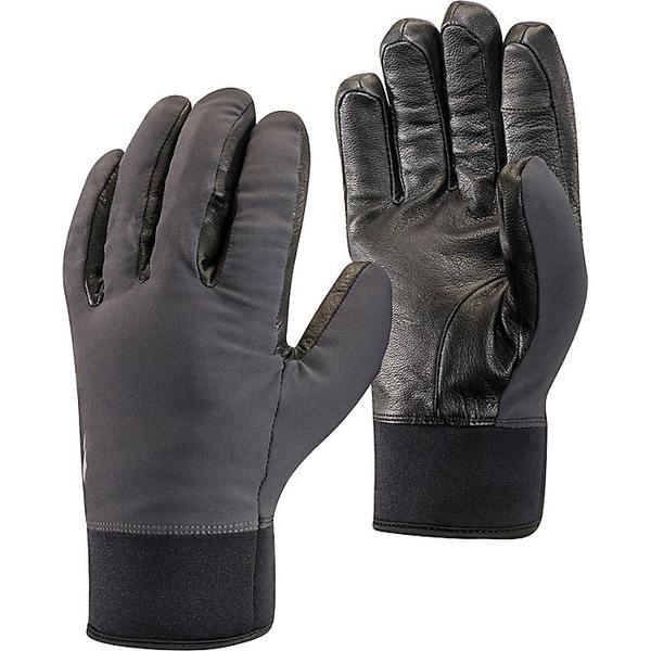 ブラックダイヤモンド レディース 手袋 アクセサリー Black Diamond HeavyWeight Softshell Glove Smoke