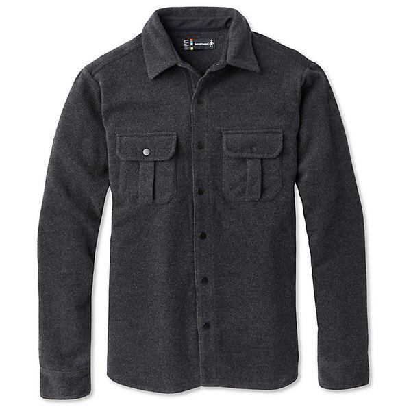 スマートウール メンズ ジャケット&ブルゾン アウター Smartwool Men's Anchor Line Shirt Jacket Charcoal Heather