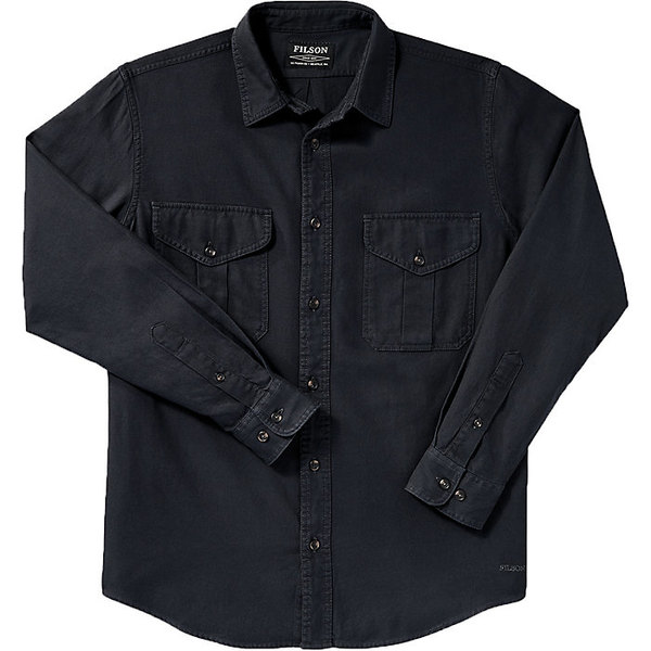 フィルソン メンズ シャツ トップス Filson Men's Lightweight Alaskan Guide Shirt Midnight Navy