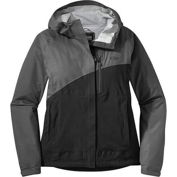 アウトドアリサーチ レディース ジャケット&ブルゾン アウター Outdoor Research Women's Panorama Point Jacket Charcoal Herringbone / Black