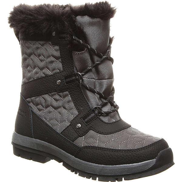 ベアパウ レディース ブーツ&レインブーツ シューズ Bearpaw Women's Marina Boot Black / Grey