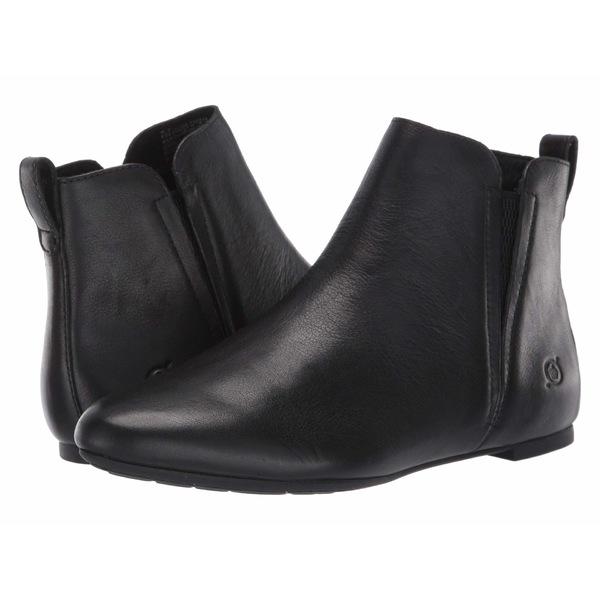 ボーン レディース ブーツ&レインブーツ シューズ Remo Black Full Grain Leather