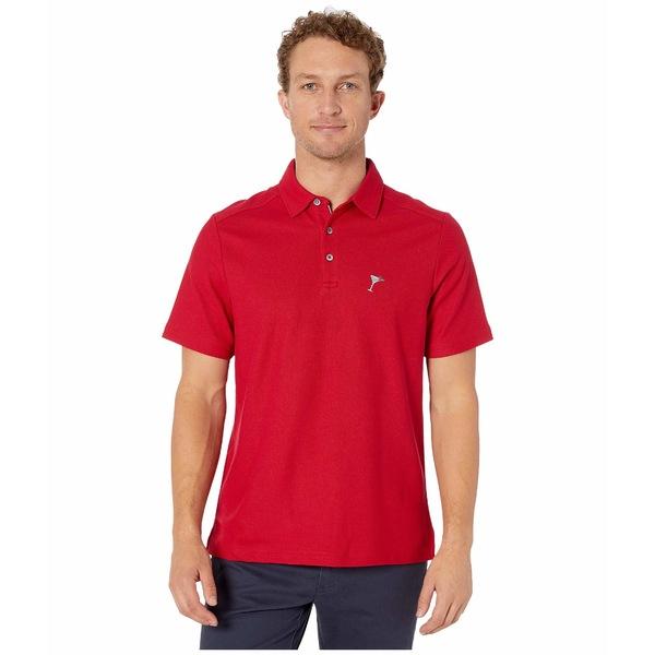トッミーバハマ メンズ シャツ トップス Party Polo Jester Red